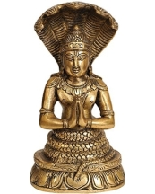 exotic-india-patanjali-brass-statue